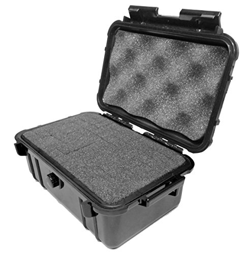 Compact and Rugged Hard Case for Mini Pico Cube Projectors - Fits RIF6 / PowMax / Tenker / UO Smart Beam Laser / Sugoiti / AAXA / Amaz-Play / IVATION Projector