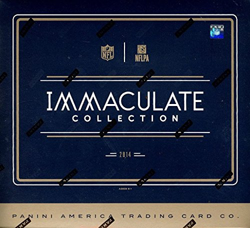 2014 Panini Immaculate Football Hobby Box (1 PACK/BOX, 6 CARDS/PACK, 5 Autos or Memorabilia cards/box, Every card #�d to 99 or less). In Stock!!
