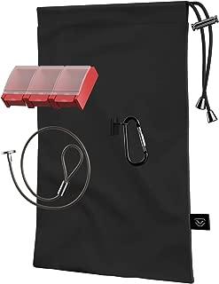 Vaultek LifePod Secure Waterproof Travel Case Rugged Electronic Lock Box Travel Organizer Portable Handgun Safe with Backlit Keypad