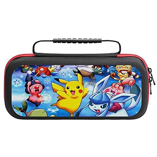 Pokemon Étui de transport pour Nintendo Switch Lite – Housse de protection ultra fine en EVA de qualité supérieure, 20 cartouches de jeu