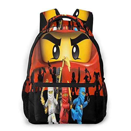 Yuantaicuifeng Ninj-ago Unisex Stylish Backpack for Boys Travel Backpack for Girls Backpacks for Students