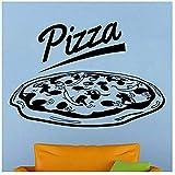 Pizza Aufkleber Essen Aufkleber Poster Vinyl Art Wall