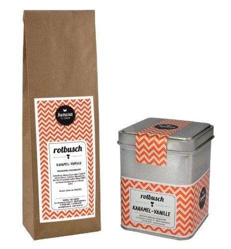 Henosa Rotbuschtee Karamel-Vanille