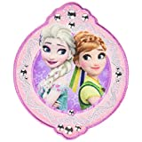 ミノダ アナと雪の女王 ワッペン大 アナとエルサ ピンク 大 D01Y0582