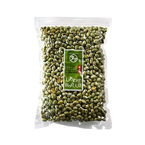 国産 煎り青大豆 1kg(250g×4袋) 無添加