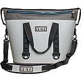 YETI Hopper Two 40 Portable Cooler, Fog Gray / Tahoe Blue