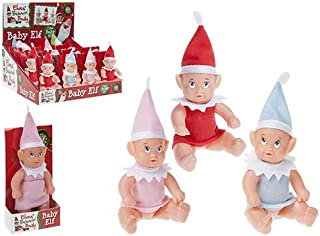 "6"" Baby Naughty Elf - Various Designs - Naughty Elves Baby Elf - Childrens Naughty Elves - Elves Behaving Badly"