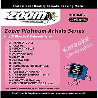 Zoom Karaoke CD+G - Platinum Artists 23: Blondie & Deborah Harry By Zoom Karaoke (2007-01-11)