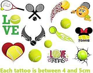 Tennis Collection (Tennis Temporary Tattoos)