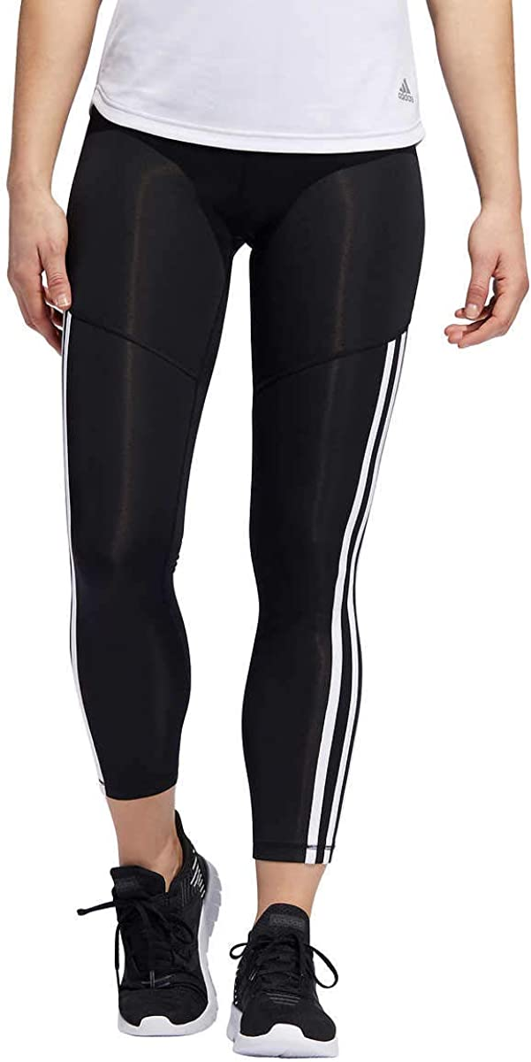 adidas 5 ☆ very popular Womens 3 OFFicial mail order Stripe 7 8 Tights