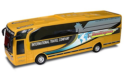 Re.El Toys Bus Road Express Mistery 2 Ass Camper Pullman Autobus Tram Gioco 931, Multicolore, 8001059003051