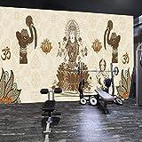 Gimnasio Aula Curso De Formación Fondo De Pantalla Estudio De Yoga Sala De Baile Fondo De Pantalla Culturismo Boxeo Decoración Mural