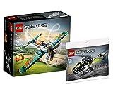 Collectix LEGO - Set per aereo da corsa Lego Technic 42117 + elicottero Lego Technic 30465 (sacchetto in plastica)