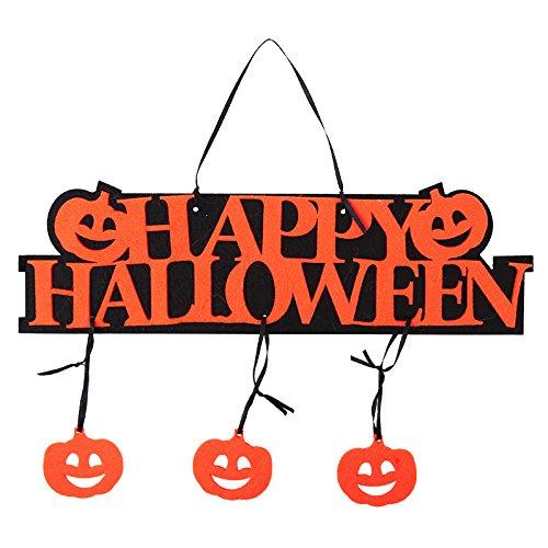 JIUJ Halloween-Dekoration, Kürbis Geist, Festival, Haus, Zahlen, Bars Super KTV Dekoration Tricks Requisiten Atmosphäre Trumpet Halloween Listing