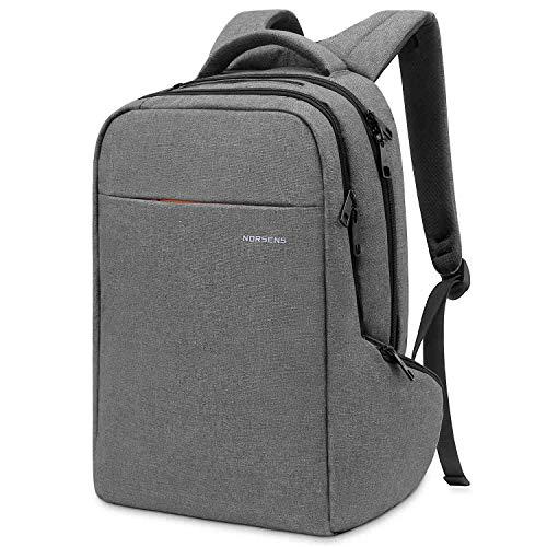 Norsens Environmental-Friendly Laptop Backpack 15.6 inch Slim Computer Backpacks Business Backpack