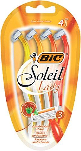 BIC Damen-Rasierer Soleil Lady, 1er Pack (1 x 4 Stück)