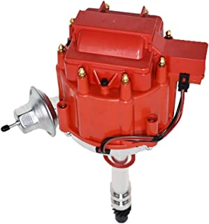 A-Team Performance HEI Distributor 65K Coil 7500 RPM Compatible with GM GMC Small Block..