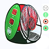Bestice Adult Children Training Network Golf Indoor Outdoor Chipping Pitching Cage Mats Practice Easy Net Golf Training Aids