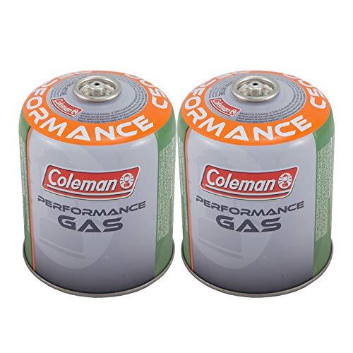 Coleman 2 x C500 Schraubkartusche 440 g Ventil Gas Kartusche Kocher Butan Propan