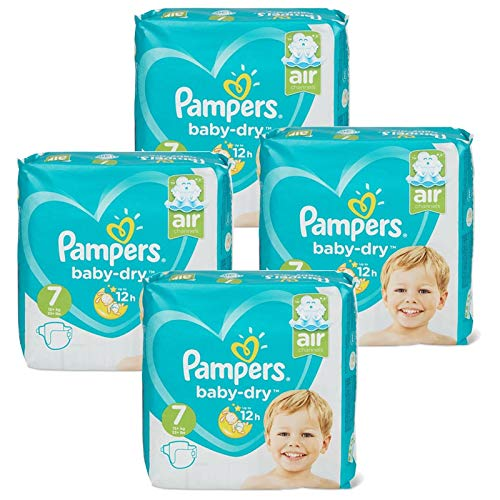 Couches Pampers - Taille 7 baby dry - 138 couches bébé