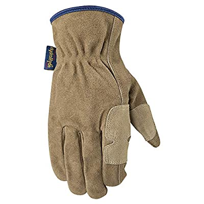 Wells Lamont Suede Cowhide HydraHyde Leather Fencer Work Gloves