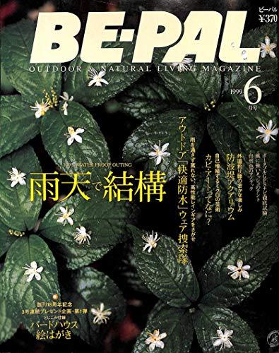 BE-PAL (ビーパル) 1999年6月号 雨天決行特集 アウトドア「快適防水」ウェア捜索隊 / 防波堤アクアリウム