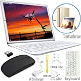 Tablet PC 10 inch 4G WIFI Tablet Computer with Keyboard Android 8.1