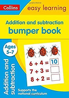 Addition and Subtraction Bumper Book Ages 5-7: Ideal for Home Learning