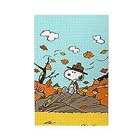 スヌーピー Snoopy (162) ジグソーパズル 木製パズル 1000ピース 知育パズル キャラクター アニメパターン 減圧 子供 初心者向け ギフト プレゼント パズル 家族の活動 萌えグッズ