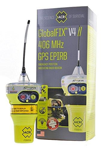 ACR GlobalFix V4 Cat 2 EPIRB (Manual) - Programada para el resto del mundo