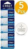 DNA CR927 - 5 Pilas de botón de litio, 3V