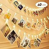 6 M 40 LED Clip cadena de luces LED, Sendo Cadena de...