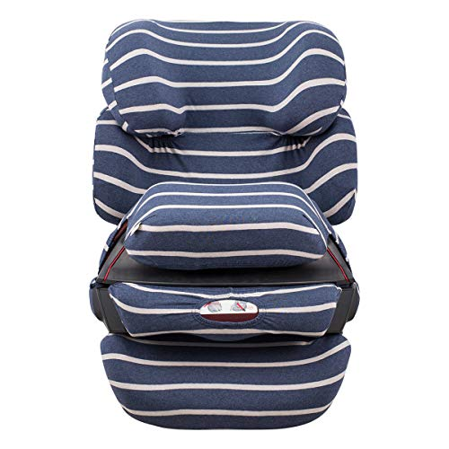 JANABEBE Bezug für Cybex Pallas-Fix -2 Fix (Sailor Stripes, PALLAS FIX)