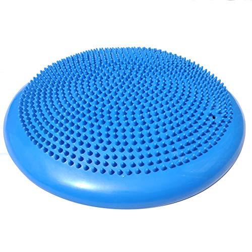 Susue Ballsitzkissen Balancekissen Physiotherapie Gleichgewichtskissen mit Pumpe Bürostuhl Stabilität Ball Unterstützung Sitzhaltung, Rückentraining