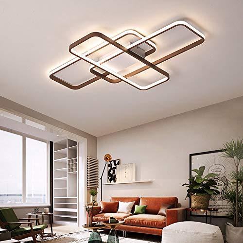 Lámpara de Techo para Salón Dormitorio Salón Pasillo Decoración Moderna Regulable LED...