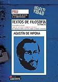 Selectividad. Textos de filosofía. Extracto de Agustín de Hipona