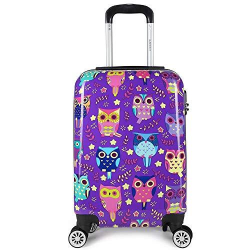Decent Forenza Handbagage Koffer 55 Owls