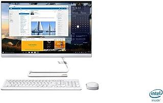 Lenovo Ideacentre A340 All-in-One Desktop, Intel Core i5-8400T, 23.8 Inch, 1TB HDD, 8GB RAM, AMD RADEON 530, Win10, Eng-Ara KB, WHITE