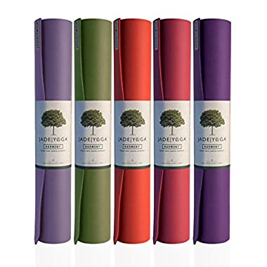Jade Harmony 3/16  x 24  x 68  Midnight Blue Yoga Mat