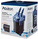 Aqueon QuietFlow Canister Filter 200 GPH, For Up to 55 Gallon Aquariums