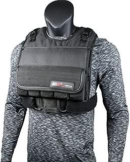 miR Short Weighted Vest with Zipper Option 20lbs - 90lbs (80LBS, Short)