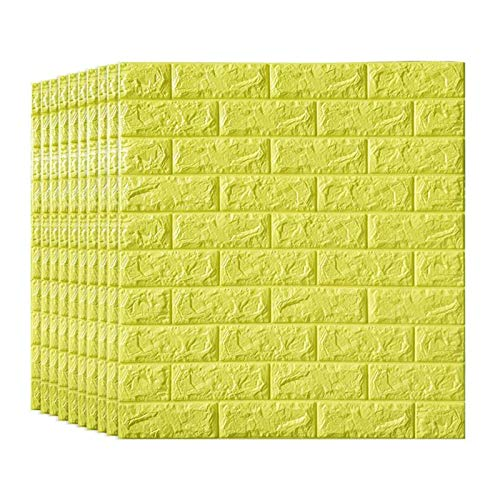KUNYI Schälen und Stick 3D Wandverkleidungen, for Innenwand-Dekor Brick Wallpaper (Size : 10 Pack)