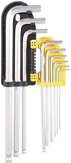 Ball Head Spanner Set Set Screwdriver Tool L Shape Wrench 9 Piece Set Hardware Accessories
