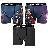 FREEGUN 3pcs Boxers Avengers Multicolor, Set 3 Infantil T673-2, 14 a 16 para Niños