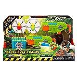 X-Shot Bug Attack 4816 - Juguete para beb, Color Verde, Naranja, Talla nica