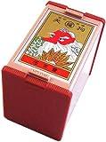 Nintendo Japanese Playing Cards Game Set Hanafuda Tengu Red