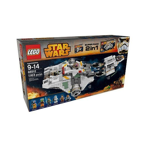 Lego Star Wars Rebels Building Set 2 In 1 (66512)