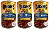Bush's Best Chili Beans-- pinto beans in mild chili sauce (3 pack) each can is 16 ounces for a total...