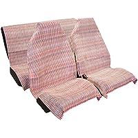 Vip - Jarapa para asiento de  coche, 3 piezas. Fabricada en fibras naturales y sintéticas.