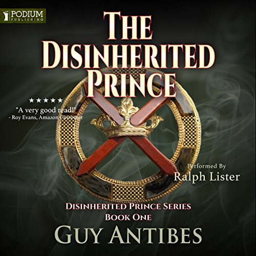 The Disinherited Prince audiobook cover art